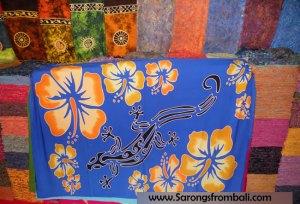 Sarongs from Bali