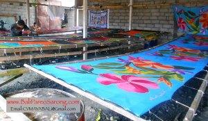 Bali Pareo Sarongs Factory